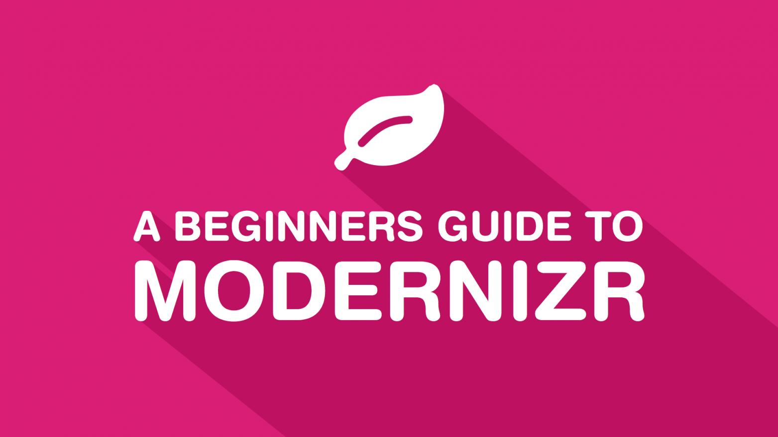 Modernizr 3 course promo image