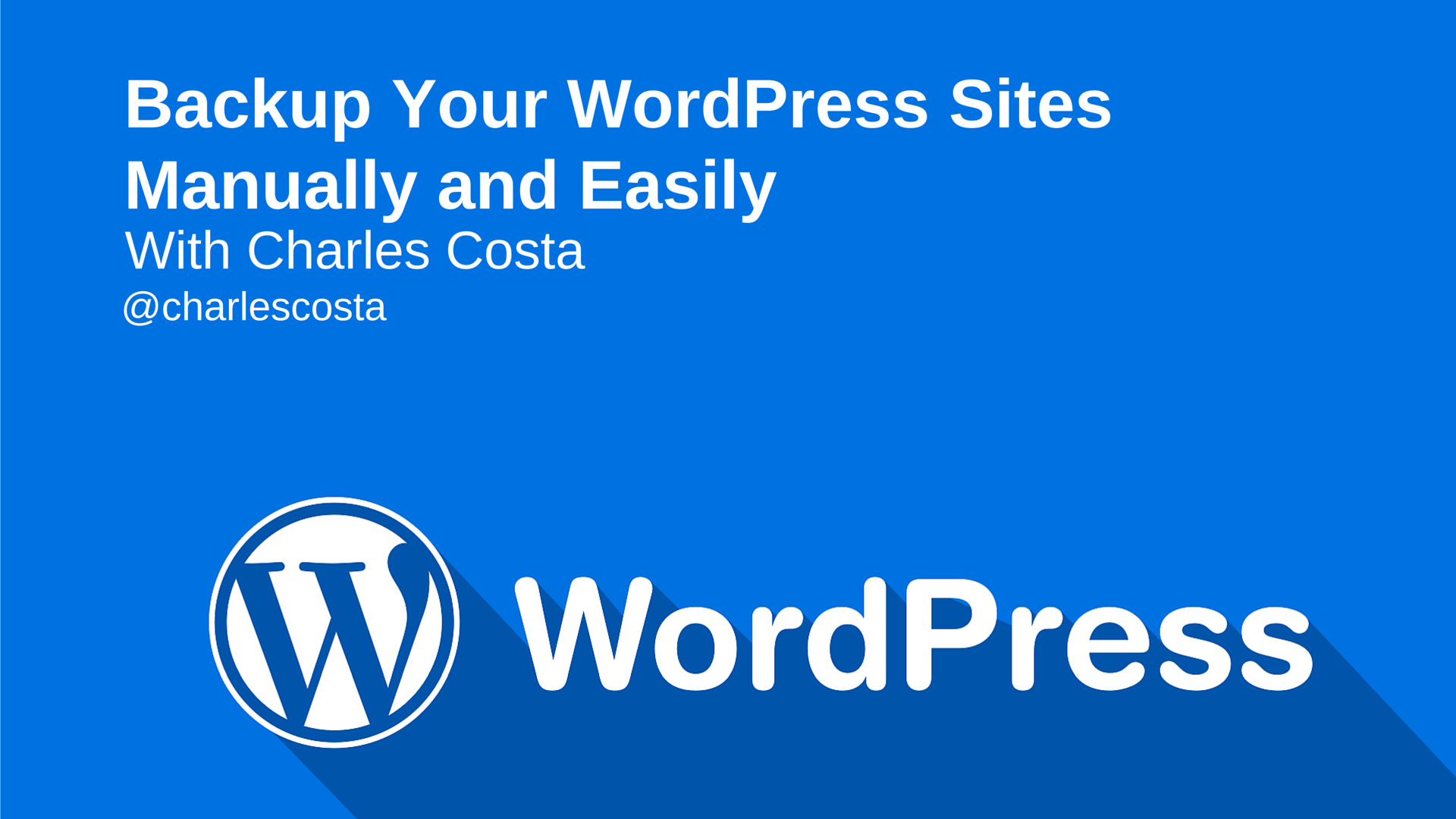 how to backup your wordpress site u2014 sitepoint
